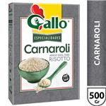 Arroz Carnaroli Mediano Carolina GALLO Para Risotto Paquete 500 Gr