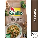 Arroz Largo Fino Gallo  Integral Con Fibra Paquete 500 Gr