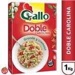Arroz Doble Carolina GALLO Grande & Cremoso Caja 1 Kg