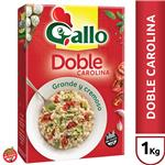 Arroz Doble Carolina GALLO   Grande & Cremoso Caja 1 Kg
