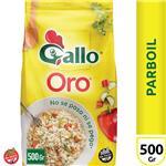 Arroz Largo Fino Gallo Oro Parboil   Paquete 500 Gr