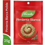 Pimienta Blanca Molida ALICANTE Sobre 25 Gr