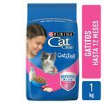 Alimento Para Gato CAT CHOW Gatitos Antiox Bsa 1 Kg