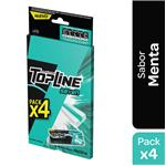 Chicles Top Line Seven Mint Bli 58.8 Grm