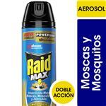 Insecticida RAID Mata Mosquito Moscas Y Zancudos Aer 360 CC