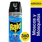 Insecticida RAID Mata Mos Y Mosquit Form Mejorada Aer 360c
