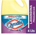 Lavandina Liquida AYUDÍN   Lavanda  Botella 4 L