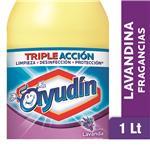 Lavandina Liquida AYUDÍN   Lavanda  Botella 1 L