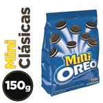Galletitas Rellenas Mini OREO Chocolate Paq 150 Grm