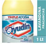 Lavandina Liquida AYUDÍN   Pureza Glaciar   Botella 1 L