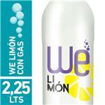Agua Saborizada Con Gas We  Lemon Ice Botella 2.25 L