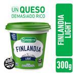 Queso Untable Light Vit A/D Finlandia Pot 300 Grm