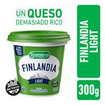 Queso Untable Light Vit A/D Finlandia Pot 300 Grm