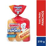 Pan Para Pancho BIMBO Acti Leche Bsa 210 Grm