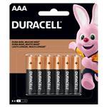 Pila Duracell Ducb Aaa X 6 Unidad . . .