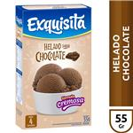 Helado Exquisita Chocolate   Caja 55 Gr