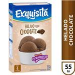 Helado Exquisita Chocolate   Caja 55 Gr