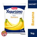 Yogur Entero YOGURISIMO Banana Bebible 1 Kg