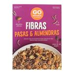 Fibras Pasas & Almendras GO NATURAL Cja 270 Grm