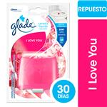 Canasta Liquida GLADE I Love You Blister 1 Gr