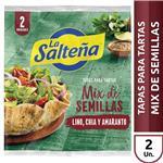Tap.Pascualina Mix Semillas La Salteña Bsa 500 Grm