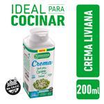 Crema De Leche LA SERENISIMA Light 200 CC