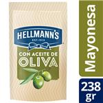 Mayonesa HELLMANNS Con Oliva Pouch 238 Gr
