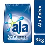 Jabón En Polvo Ala   Paquete 3 Kg