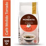 Café Torrado Molido La Morenita   Paquete 500 Gr