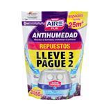 Antihumedad Aire Pur + Desod Lavanda Pak 3 Uni