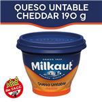 Queso Untable MILKAUT Cheddar Pot 190 Grm