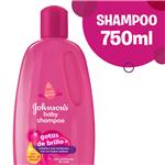 Shampoo Johnsons Babys Gotas De Brillo 750 Ml