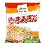 Hamburguesa Pollo TRES ARROYOS Fwp 166 Grm