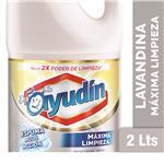 Lavandina Liquida AYUDÍN Espuma Multi Acción Botella 2 L