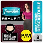 Ropa Interior Plenitud Mujer Real Fit P/M X8
