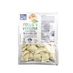 Ravioles CIUDAD DEL LAGO Pollo/Verdura Bli 500 Grm