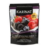 Frutas Moras Karinat Paq 600 Grm