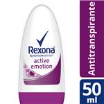 Desodorante REXONA Active Emotion Roll-on