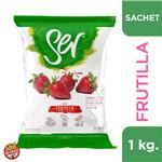 Yogur Bebible Descremado SER Frutilla Sch 1000 Grm