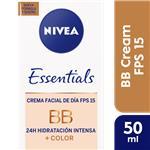Crema NIVEA Bb-Cream 6-1 Humec - Beleza 6-1 Cja 50ml