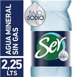 Agua Mineral  Ser Baja En Sodio  Botella 2.25 L