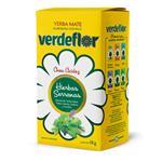 Yerba Mate Verde Flor Hierbas Serranas Con Palo  Paquete 1 Kg