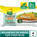 Milanesa De Arroz Con Vegetales Granja Del  Fwp 330 Grm