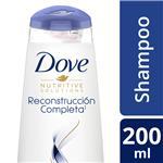 Shampoo DOVE   Reconstrucción Completa Botella 200 ML