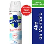 Desinfectante LYSOFORM Aire De Montaña  Aerosol 360 CC