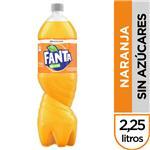 Gaseosa Fanta Zero  Botella 2.25 L