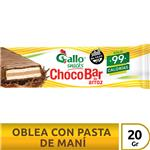 Oblea De Arroz Gallo Snacks Paq 20 Grm