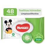 Toalla Húmeda HUGGIES Limpieza Humecta Paquete 48 U