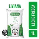 Leche Descremada LA SERENISIMA C/Vitaminas A Y D Sch 1lt