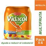 Yogur VIDACOL Bebible Descremado 400 Gr Multifruta